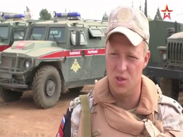Командир взвода военной полиции о выходе из окружения в Сирии