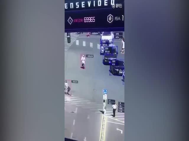 Система тотального видеонаблюдения в Китае