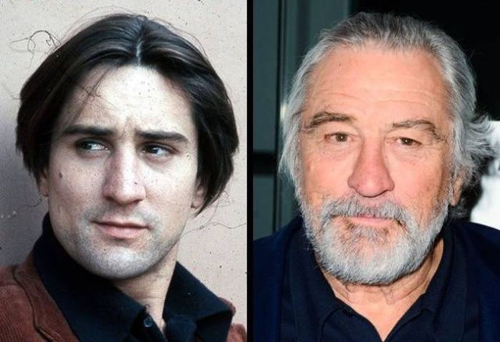Знаменитые актеры в молодости и сейчас (16 фото)