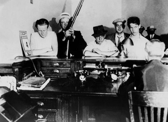 Гангстеры США 30-х годов (16 фото)