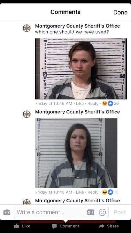 Полицейские предложили разыскиваемой выбрать понравившейся ей снимок (7 фото)