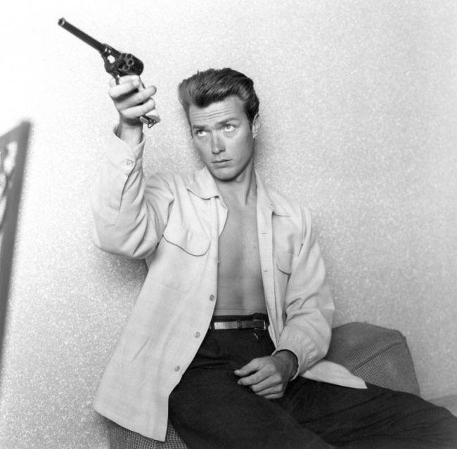 26-летний Клинт Иствуд в 1956 году (12 фото)