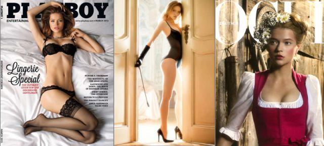 Российские и украинские девушки на обложках журнала Playboy (16 фото)