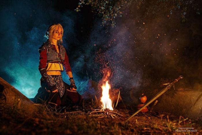 Ведьмак и Цири от московских косплееров (26 фото)