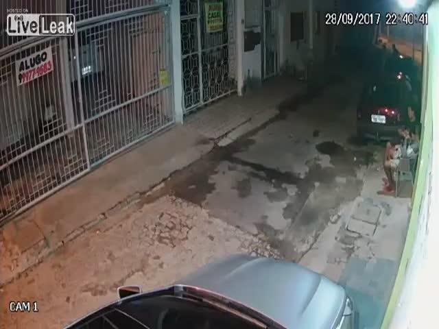 Грабитель сам стал жертвой