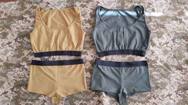 Новое белье для украинских женщин-военнослужащих (6 фото)