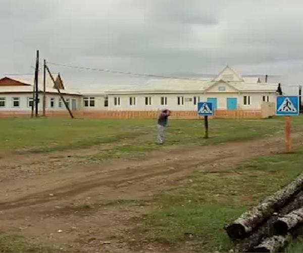 Пешеходный переход в селе Иркутской области