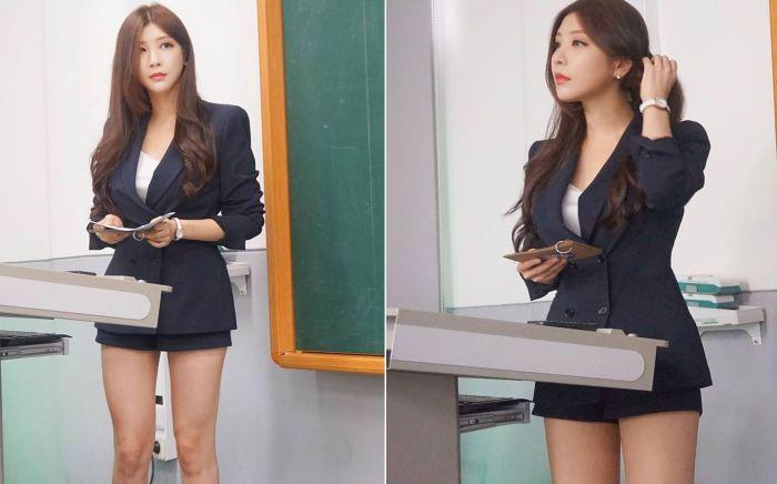 Пак Хень Сань - самый красивый лектор Южной Кореи (22 фото)