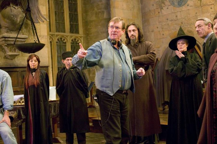 Фото со съемочной площадки фильма «Гарри Поттер и Кубок Огня» (12 фото)
