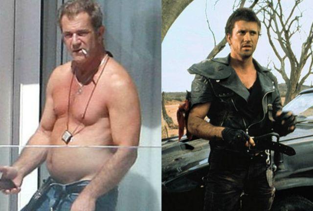 Актеры популярных боевиков тогда и сейчас (17 фото)
