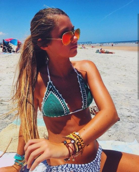 Девушки в солнцезащитных очках (38 фото)