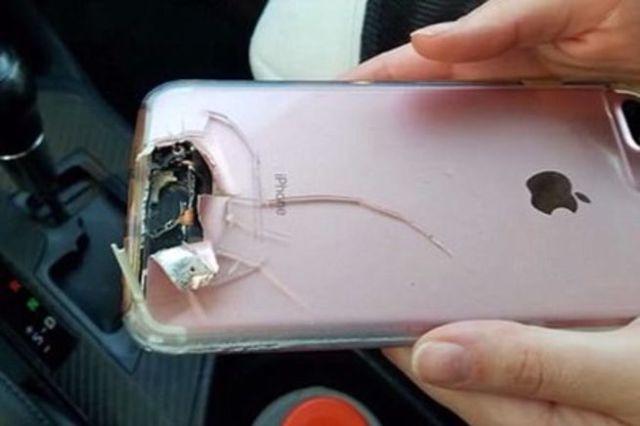 iPhone спас жизнь своей хозяйке во время бойни в Лас-Вегасе (фото)