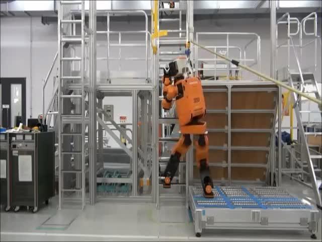 Обучение нового экспериментального робота