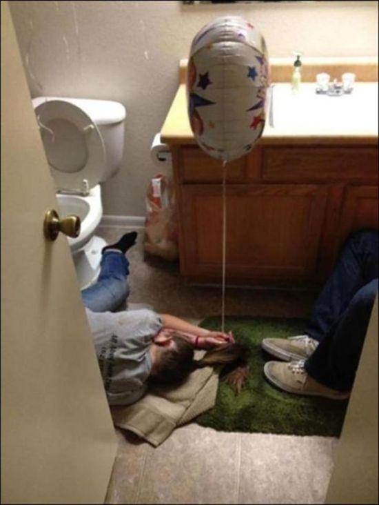 Пьяные люди прилегли немного отдохнуть (15 фото)