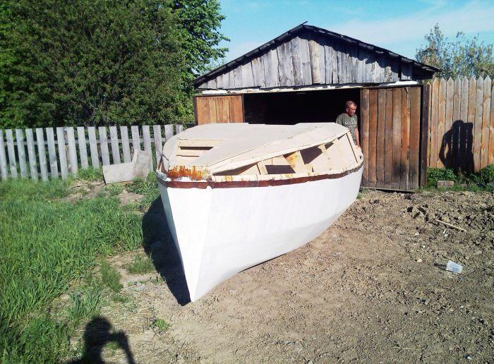 Фотоотчет о строительстве собственной яхты (27 фото)