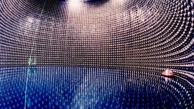 Нейтринный детектор «Супер-Камиоканде» (7 фото)