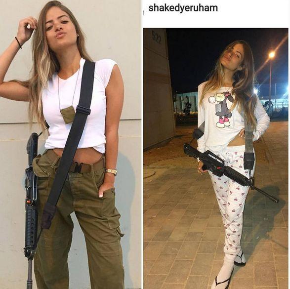 Девушки в израильской армии (30 фото)