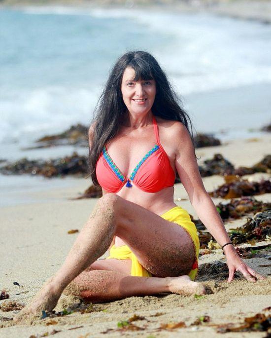 «Старейшая в Великобритании гламурная модель» Сьюзи Монти (11 фото)