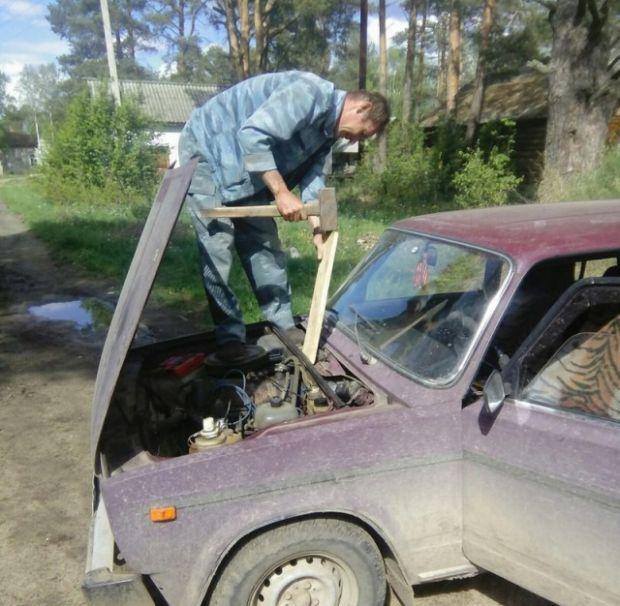 Забавные фотографии, сделанные на территории России (35 фото)