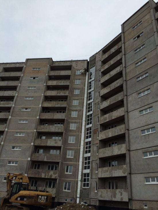 Нестандартное решение строителей (5 фото)