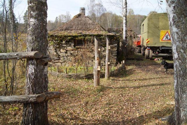 В Башкортостане лесорубы разрушили старинные Борисовские печи (10 фото)
