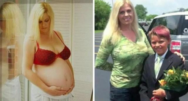 Мать и сын одновременно сменили пол (13 фото)