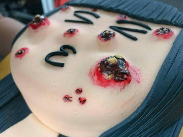 «Прыщавые торты» от малазийской пекарни (6 фото)