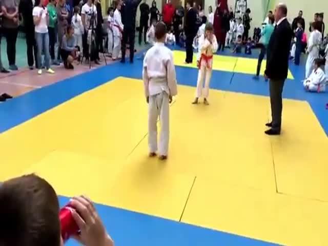 Инцидент на турнире по дзюдо
