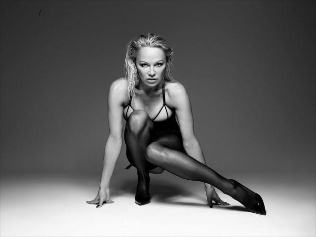 Памела Андерсон снялась в рекламе нижнего белья (8 фото)