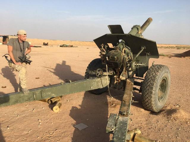 Советская гаубица М-30 теперь борется с террористами ИГИЛ (2 фото)