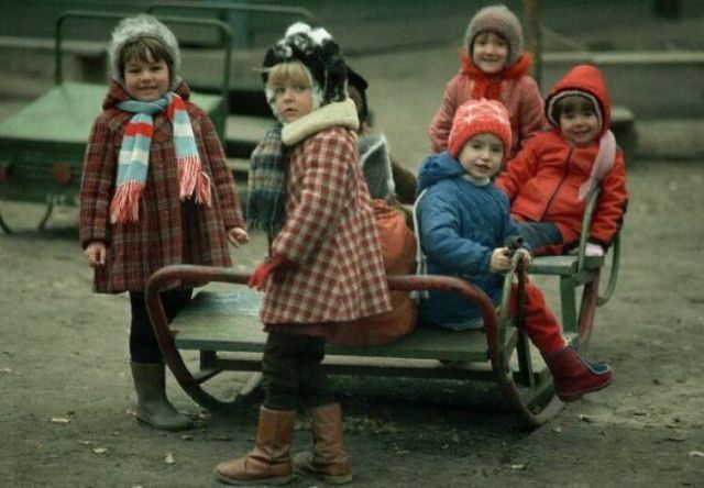 Позитивные фотографии из советского прошлого (25 фото)