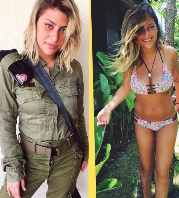 Прекрасные военнослужащие армии Израиля (20 фото)