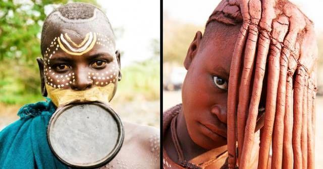 Понятия красоты у разных народов мира (11 фото)