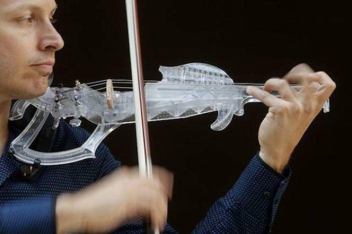Удивительные вещи, созданные с помощью 3D-принтера (28 фото)