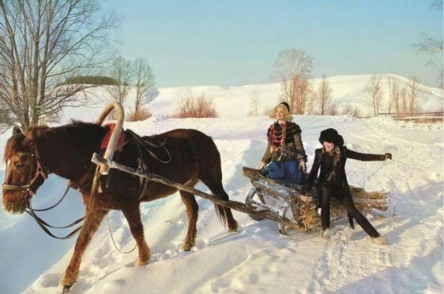 Простой деревенский быт в фотографиях Андрея Яковлева (12 фото)