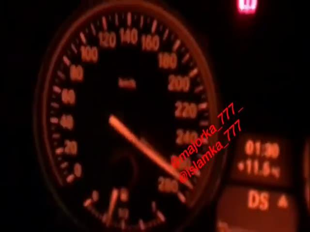 Гонки на МКАД со скоростью 270 км/ч