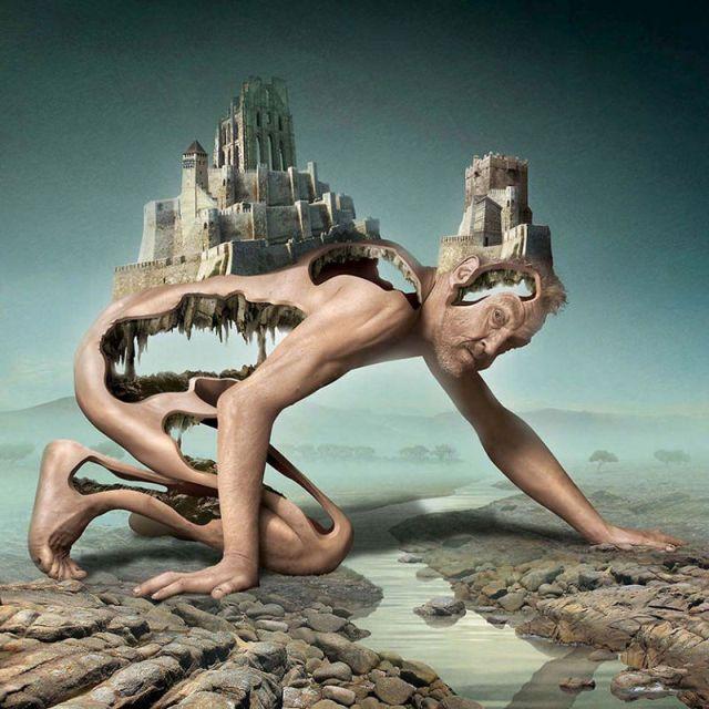 Сюрреалистичные картины Игоря Морски о темных сторонах современного общества (20 рисунков)