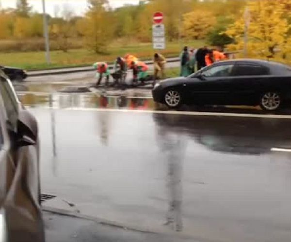 Московские дорожники взялись за дело
