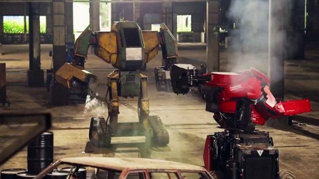 В Японии состоялась первая битва боевых роботов (5 гифок)