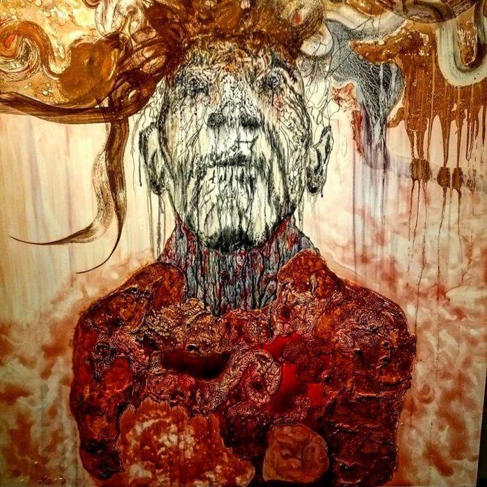 Картины художников с психическими расстройствами (20 рисунков)