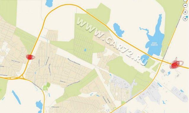 В Тюмени начали высчитывать среднюю скорость движения и штрафовать за превышение (3 фото)