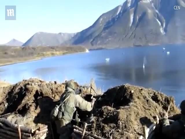 Учения российских войск в Приморском крае