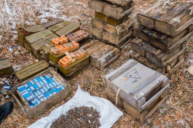 Житель Якутии получит более 700 000 рублей за сдачу найденных патронов (4 фото)