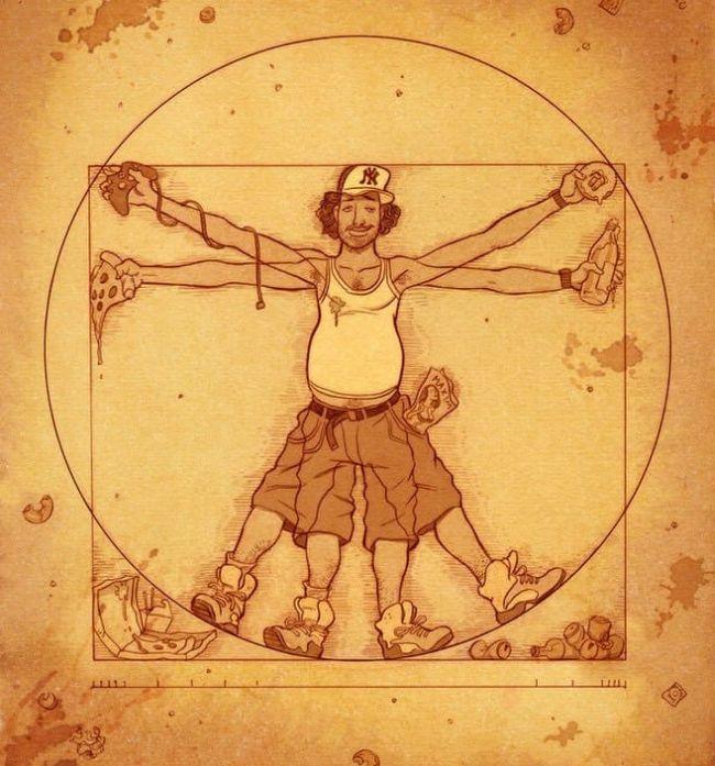 Остросоциальные иллюстрации (20 рисунков)