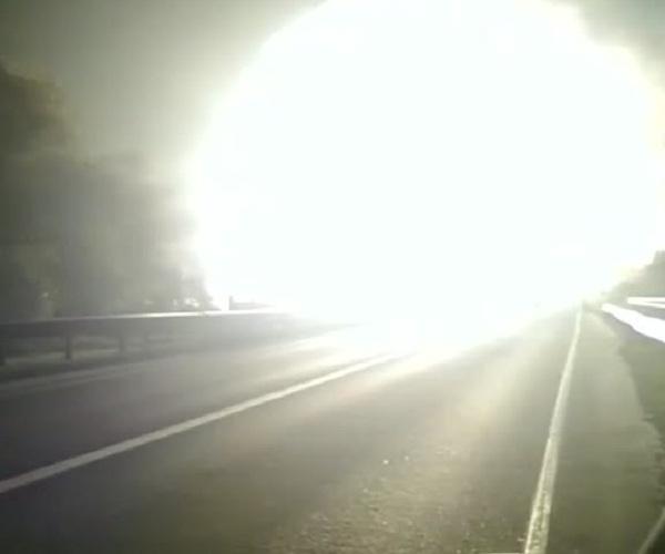 Взрыв на газопроводе в Московской области