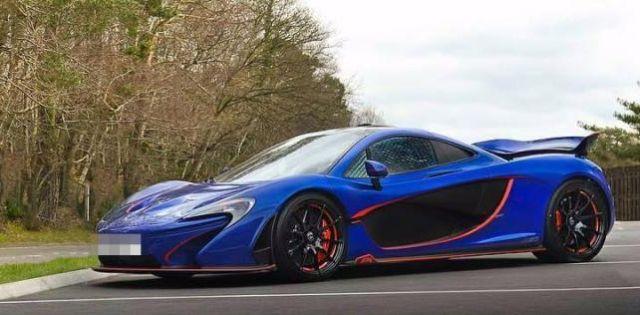 В Великобритании сгорел гиперкар McLaren P1 стоимостью 1,3 млн долларов (3 фото + видео)