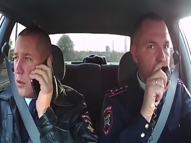 Полицейские случайно задержали воров