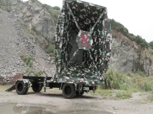 Самая большая передвижная сирена в мире