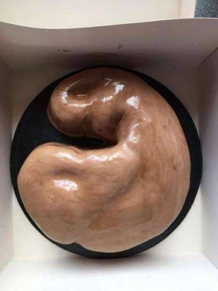 Торт на день рождения для бодибилдера (5 фото)
