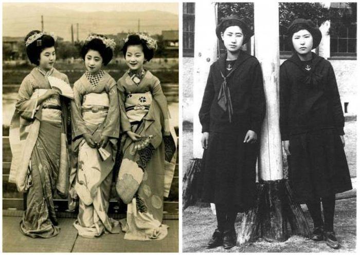Как выглядела молодежь 100 лет назад (23 фото)